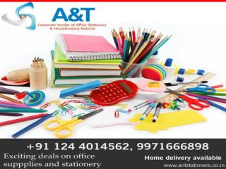 Get the best stationery items wholesaler in Gurgaon at very low possible prices.