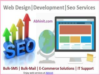 Web Design, Development and Seo Company in Jaipur, India