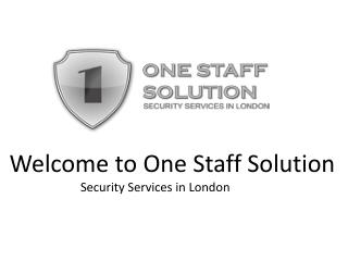Close Protection in London by Security Guards Company London