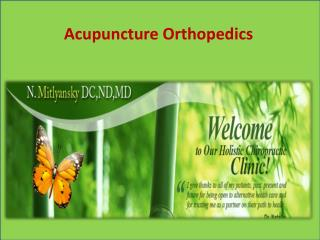 Acupuncture Orthopedics