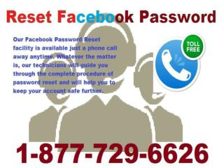 Recover Facebook Password 1-877-729-6626 Issue Can Be Fixed Easily