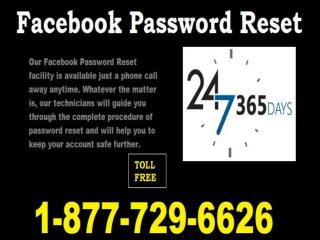 Forgot Facebook Password 1-877-729-6626 at a Market-Leading Price Tag