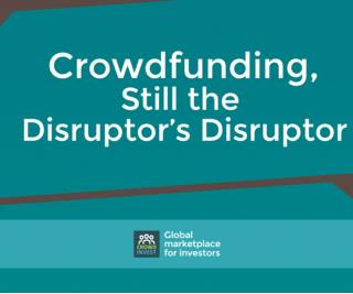 Crowdfunding still a disruptor by crowdinvest