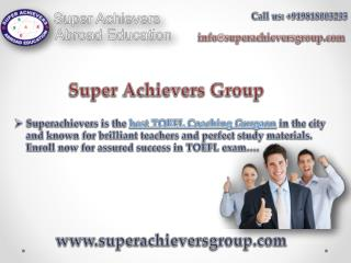 Superachievergroup Provides best IELTS Training in Gurgaon