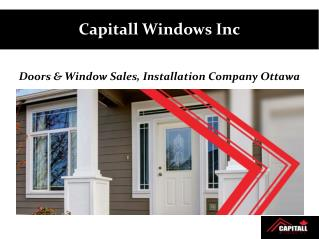 About Capitall Windows Inc