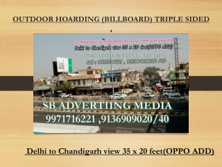 HOARDING IN SHAHBADMarkandaMAIN HIGHWAY Haryana