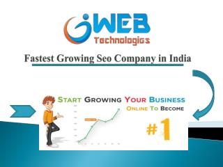 Get Trusted Seo Company in India