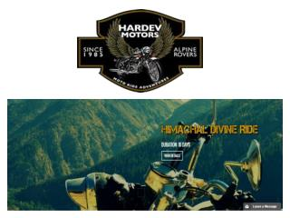 Motorcycle tours in Nepal | hardevmotors.com