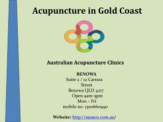 Best Acupuncture Services for the Treatment of Depression, Anxiety in Gold Coast