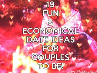 19 Fun & Economical Date Ideas For Couples To Be!
