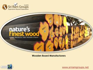 Wooden Board Manufacturers