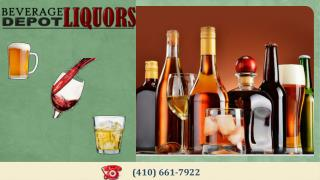 Buy Wine, Beer and Spirits at Beverage Depot Liquors