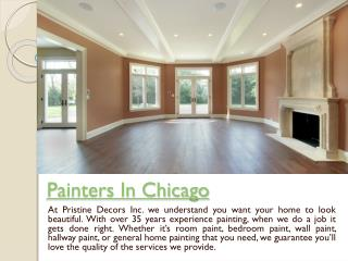 house painting chicago