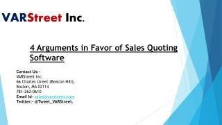 4 Arguments in Favor of Sales Quoting Software