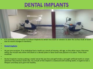 Dental Implants - Types and Procedures