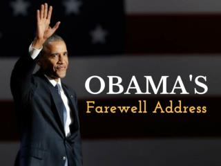 Obama's farewell address