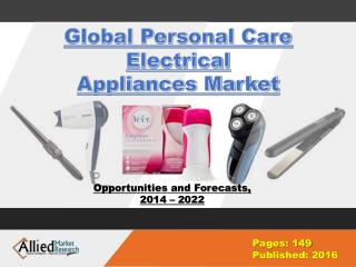 Global Personal Care Electrical Appliances Market Growth 2022