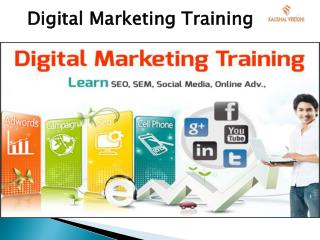 Digital Marketing Training - In Noida By Industry Expert -kaushalvriddhi.com