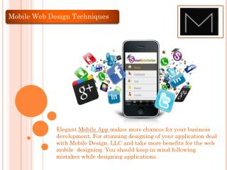 Mobile Web Design New York
