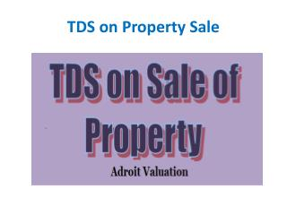 Pay TDS Online for Sale of Property