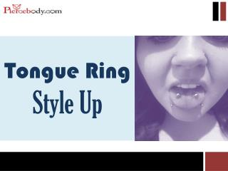 Tongue Ring Style Up - Pierce Body