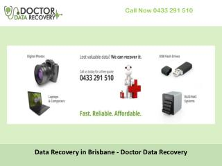 Data Recovery in Brisbane - Doctor Data Recovery
