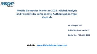 Mobile Biometrics Market with business strategies and analysis to 2025 |The Insight Partners
