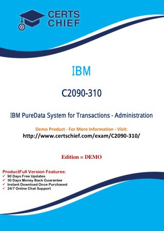 C2090-310 Exam Test Practice Download