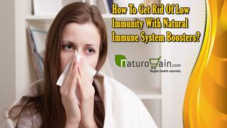 How To Get Rid Of Low Immunity With Natural Immune System Boosters?