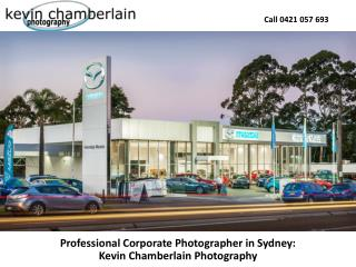 Professional Corporate Photographer in Sydney: Kevin Chamberlain Photography