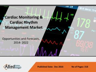 Cardiac Monitoring & Cardiac Rhythm Management Market Forecast, 2014-2022