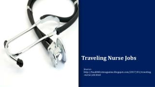 Traveling Nurse Job