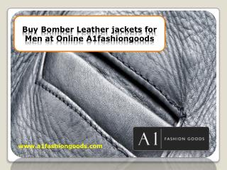 Buy Mens Leather Coats at Online A1fashiongoods