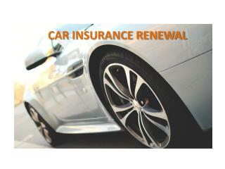 Time to Renew Your Car Insurance: Getting Automobile Insurance Ratings