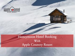 Manali Hotel Booking Honeymoon