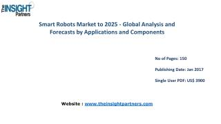 Research Analysis on Smart Robots Market 2016-2025 |The Insight Partners