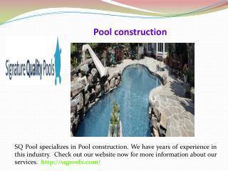 Signature quality pools