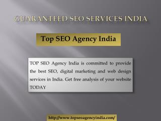 Guaranteed SEO Services India
