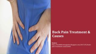 Back Pain Treatment & Causes