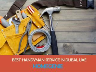 Best Handyman and Sofa Repair and Service in Dubai, UAE