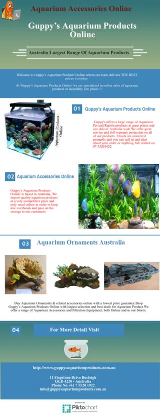 Order Aquarium Accessories Online In Australia