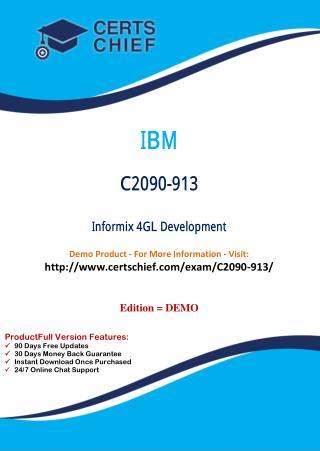 C2090-913 Latest Certification Dumps Download