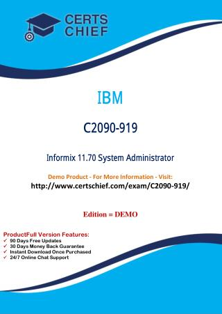 C2090-919 Latest Certification Dumps Download