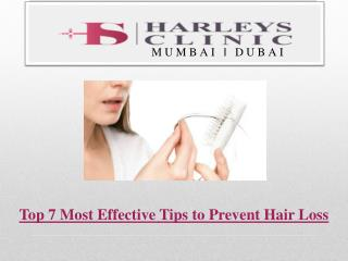 Top 7 Most Effective Tips to Prevent Hair Loss