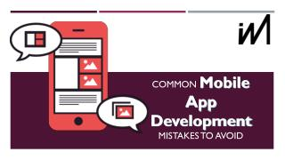 Common Mobile App Development Mistakes to Avoid