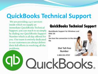 QuickBooks Support  Number  1-844-551-9757 Helpline