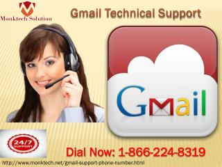 Gmail Technical Support at 1-866-224-8319- All Time Available