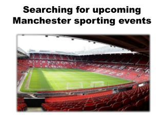 Concert Tickets Manchester