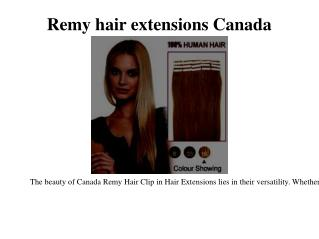 Ombre hair extensions Canada
