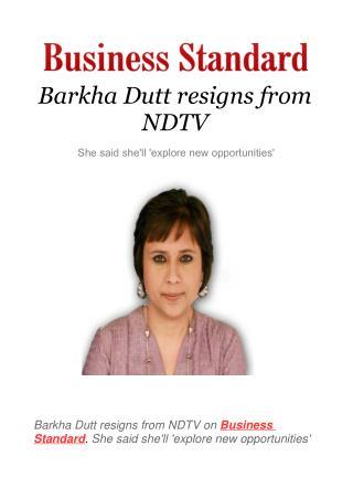 Barkha Dutt resigns from NDTV